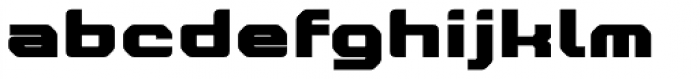 Nightjar Text Black Font LOWERCASE
