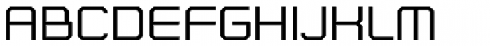 Nightjar Text Regular Font UPPERCASE