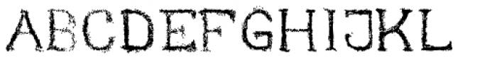 Nihil Font UPPERCASE