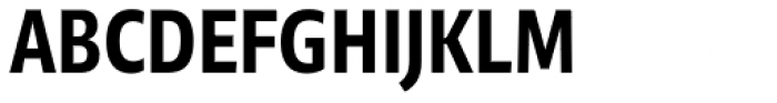 Niko Extra Condensed Bold Font UPPERCASE
