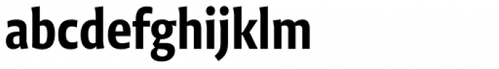 Niko Extra Condensed Bold Font LOWERCASE