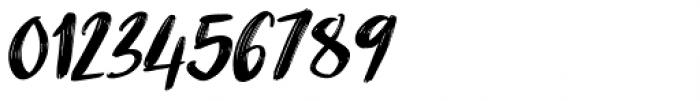 Nikotinus Italic Font OTHER CHARS
