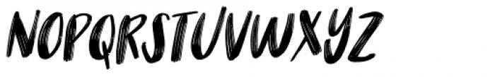 Nikotinus Italic Font UPPERCASE