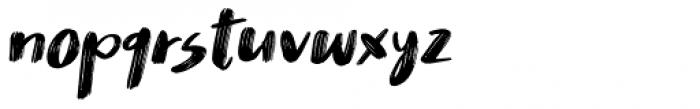 Nikotinus Italic Font LOWERCASE