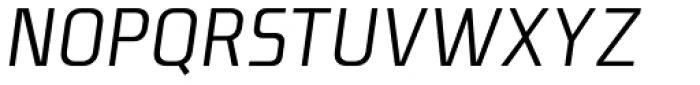 Niks Italic Font UPPERCASE