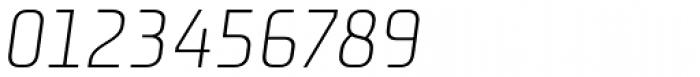Niks Light Italic Font OTHER CHARS