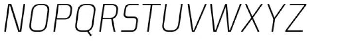 Niks Light Italic Font UPPERCASE