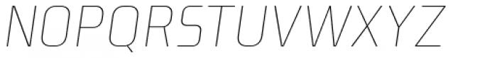 Niks Thin Italic Font UPPERCASE
