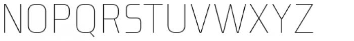 Niks Thin Font UPPERCASE