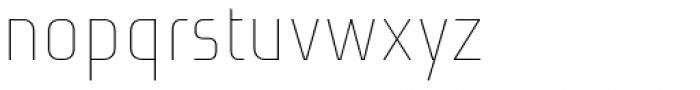 Niks Thin Font LOWERCASE