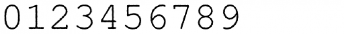 Nimbus Mono Antique L Regular Font OTHER CHARS