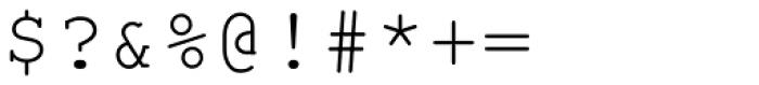 Nimbus Mono L Regular Font OTHER CHARS