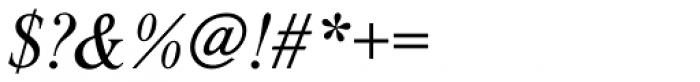 Nimbus Roman D Italic Font OTHER CHARS