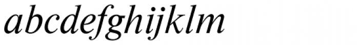 Nimbus Roman D Italic Font LOWERCASE