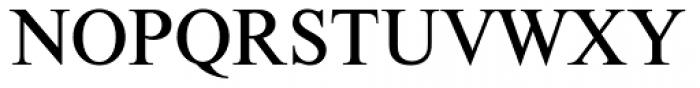 Nimbus Roman D Font UPPERCASE