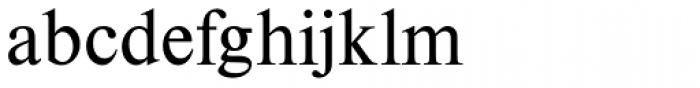 Nimbus Roman D Font LOWERCASE