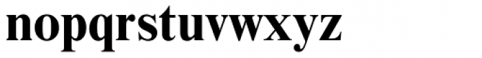 Nimbus Roman No 9 Bold Font LOWERCASE