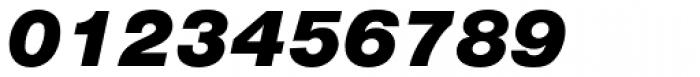 Nimbus Sans Black Italic Font OTHER CHARS