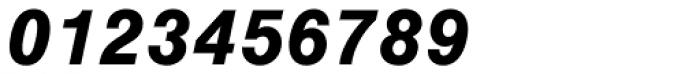 Nimbus Sans Bold Italic Font OTHER CHARS