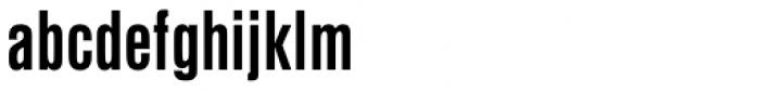 Nimbus Sans D Cond Bold Font LOWERCASE