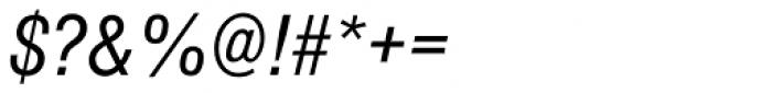 Nimbus Sans D Cond Italic Font OTHER CHARS