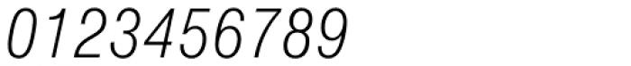 Nimbus Sans D Cond Light Italic Font OTHER CHARS