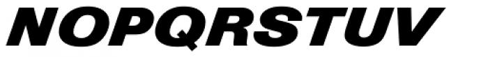 Nimbus Sans D Diagonal Font UPPERCASE