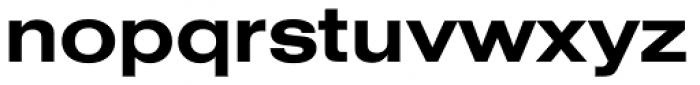 Nimbus Sans D Ext Bold Font LOWERCASE