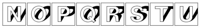 Nimbus Sans D Initials Bold Font UPPERCASE