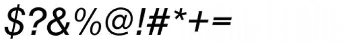 Nimbus Sans D Italic Font OTHER CHARS