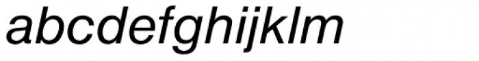 Nimbus Sans D Italic Font LOWERCASE