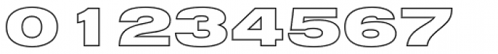Nimbus Sans D Outline Black Extended Font OTHER CHARS