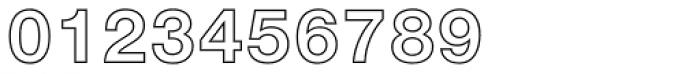 Nimbus Sans D Outline Bold Font OTHER CHARS