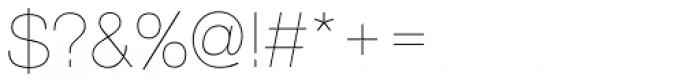 Nimbus Sans D UltraLight Font OTHER CHARS