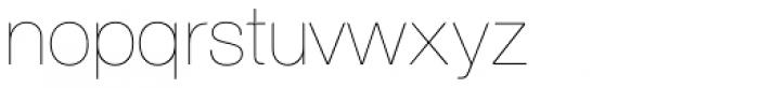 Nimbus Sans D UltraLight Font LOWERCASE