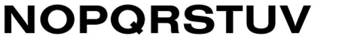 Nimbus Sans Extended Bold Font UPPERCASE