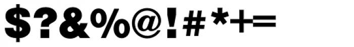 Nimbus Sans L Black Font OTHER CHARS
