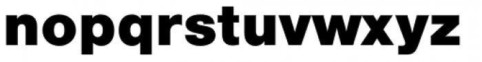 Nimbus Sans L Black Font LOWERCASE