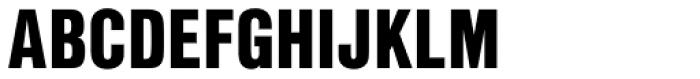 Nimbus Sans L Cond Black Font UPPERCASE
