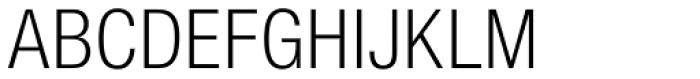 Nimbus Sans L Cond Light Font UPPERCASE