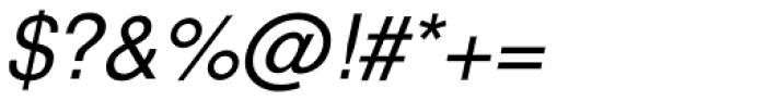 Nimbus Sans L Italic Font OTHER CHARS