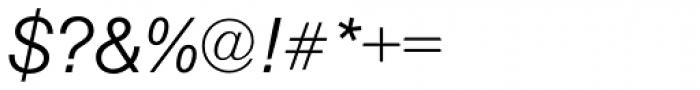 Nimbus Sans Light Italic Font OTHER CHARS