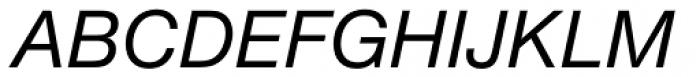 Nimbus Sans ME Italic Font UPPERCASE