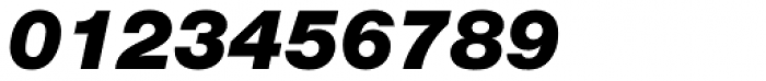 Nimbus Sans Novus Black Italic Font OTHER CHARS