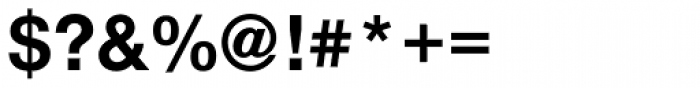 Nimbus Sans Novus Bold Font OTHER CHARS