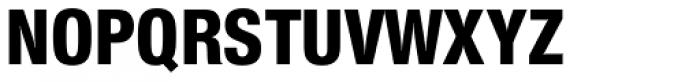 Nimbus Sans Novus Cond Heavy Font UPPERCASE