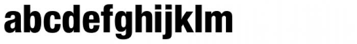 Nimbus Sans Novus Cond Heavy Font LOWERCASE