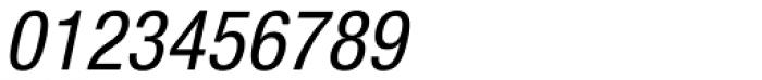 Nimbus Sans Novus Cond Medium Italic Font OTHER CHARS