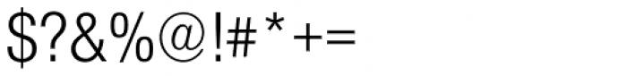 Nimbus Sans Novus Cond Regular Font OTHER CHARS