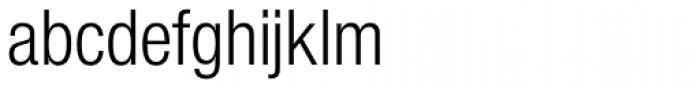 Nimbus Sans Novus Cond Regular Font LOWERCASE